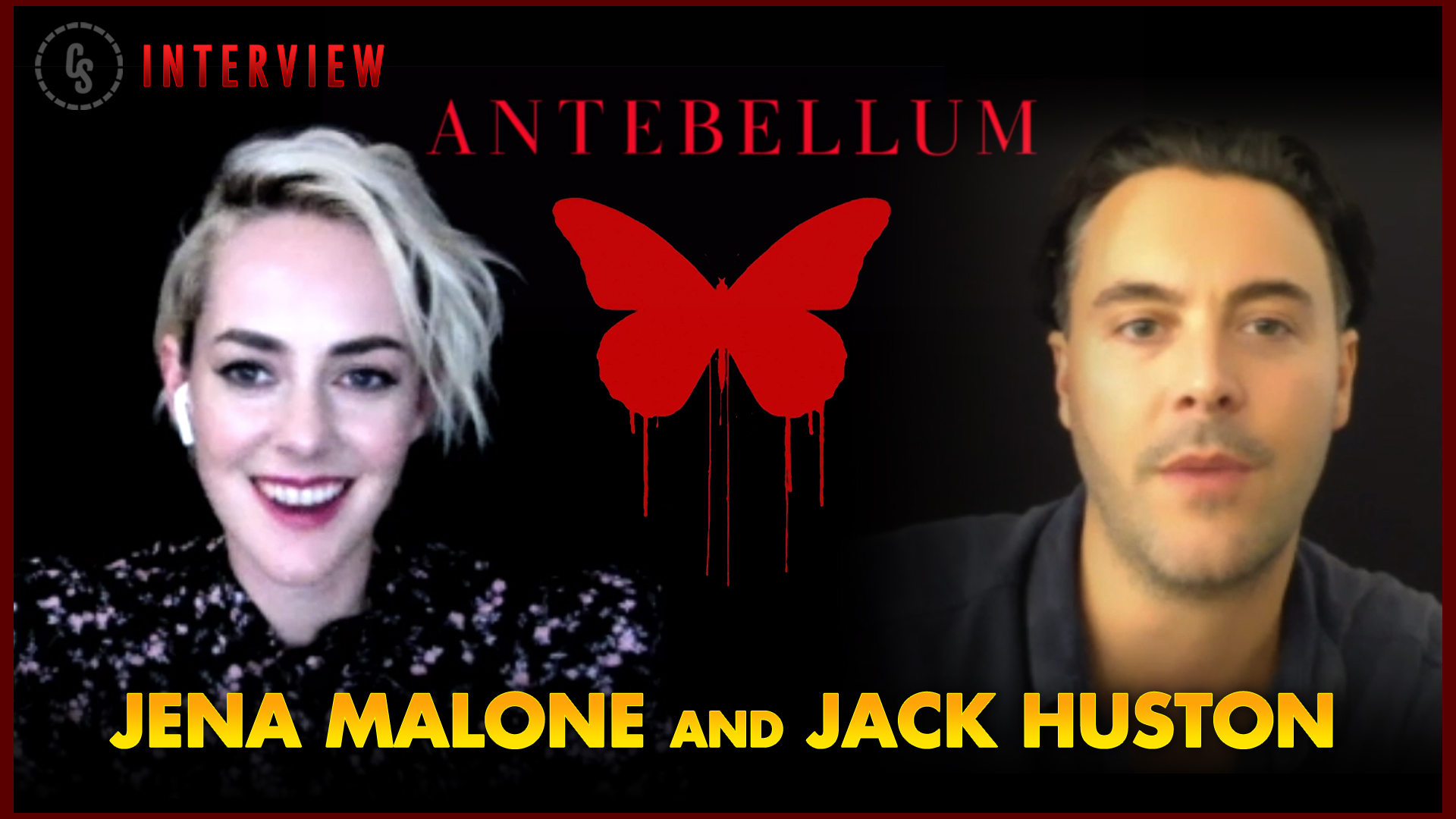 CS Video: Jena Malone & Jack Huston Talk Horror Thriller Antebellum