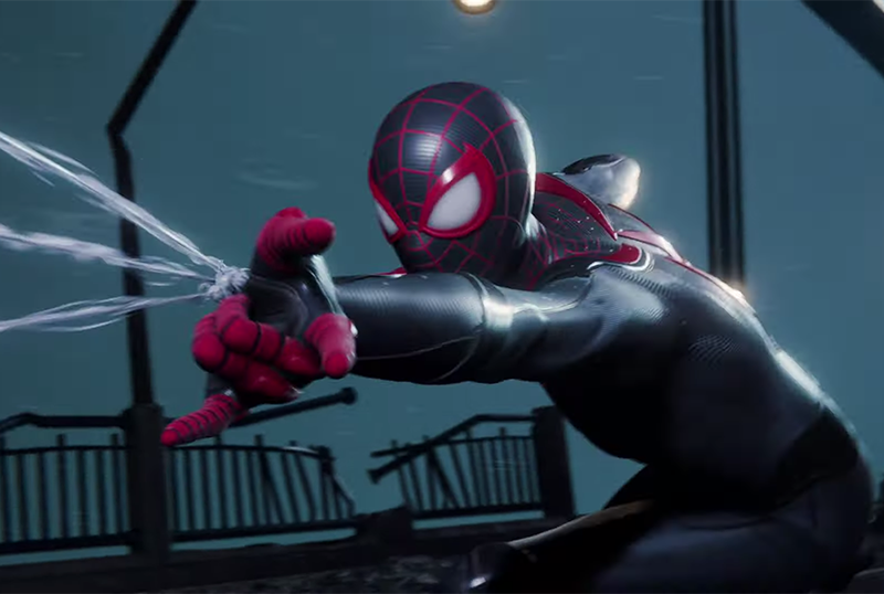 Spider-Man: Miles Morales looks fab in its first combat footage