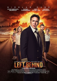 Left Behind on DVD Blu-ray today