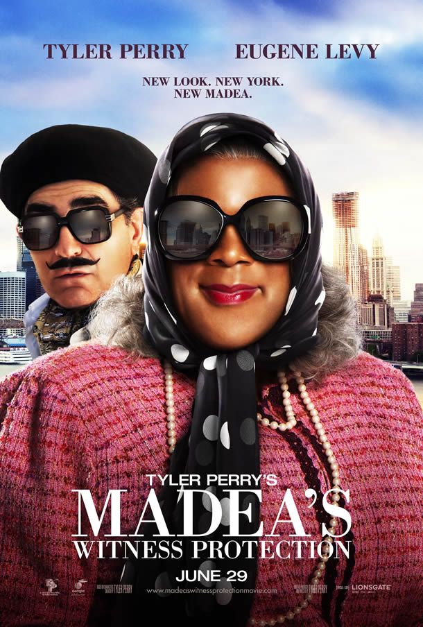 Poster for Madea's Witness Protection