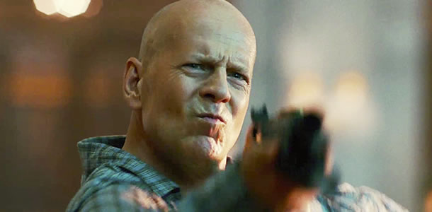 Bruce Willis in A Good Day to Die Hard