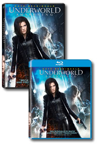Underworld: Awakening on DVD Blu-ray today