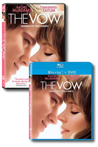 The Vow on DVD Blu-ray today