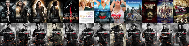 24 New Movie Posters from 'Snow White,' 'Piranha 3DD,' 'Sparkle,' 'Expendables 2' and More