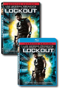 Lockout on DVD Blu-ray today