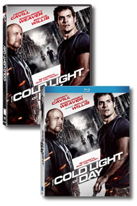 The Cold Light of Day on DVD Blu-ray today