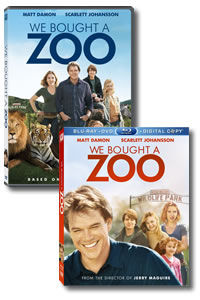 We Bought a Zoo on DVD Blu-ray today