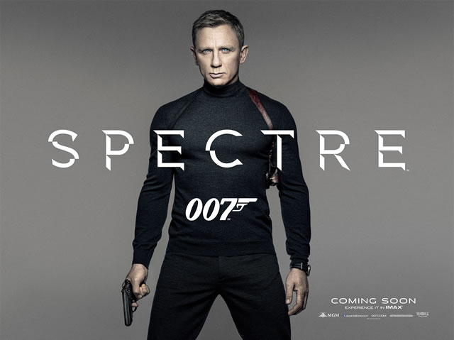 Spectre movie posters