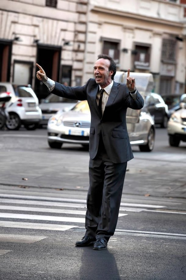 Roberto Benigni in To Rome with Love