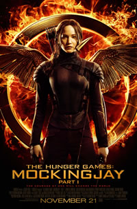 The Hunger Games: Mockingjay - Part 1 on DVD Blu-ray today