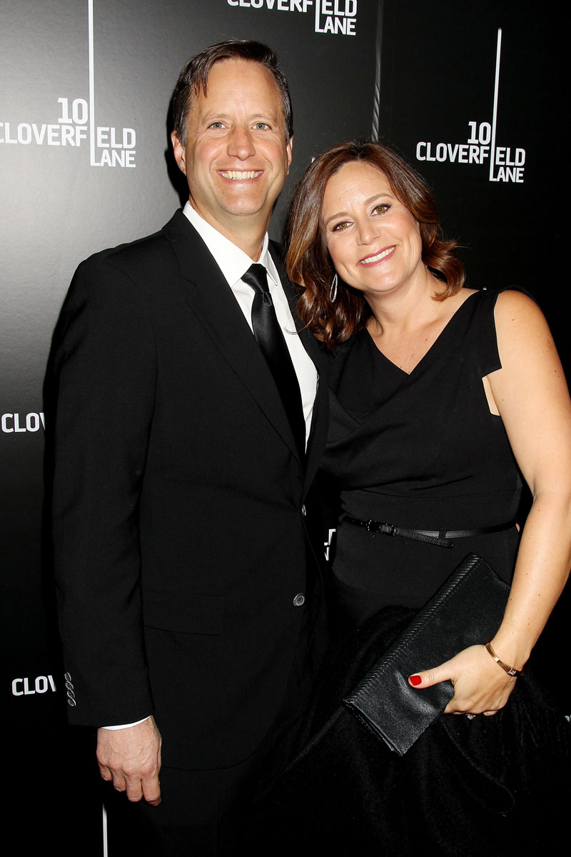 Matt Stuecken with Wife (Screenwriter)