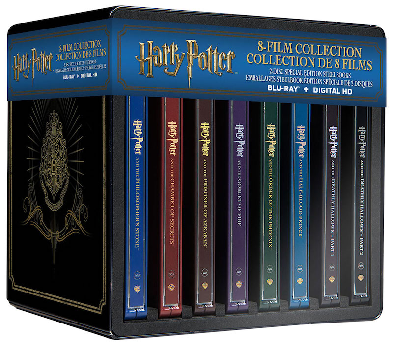 The Harry Potter Steelbook Collection