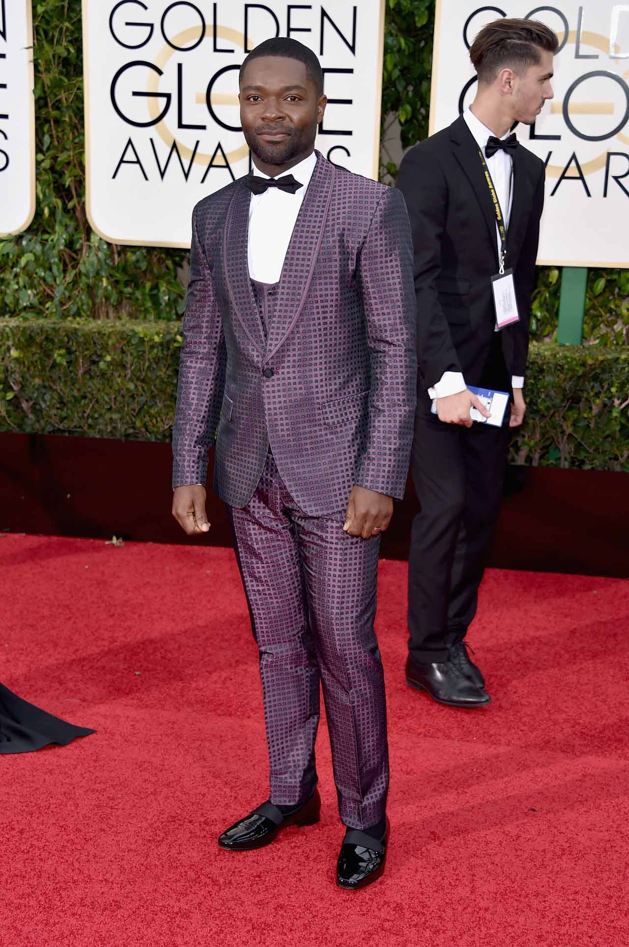 Image result for David Oyelowo IN DOLCE & GABBANA AT THE 2016 GOLDEN GLOBES
