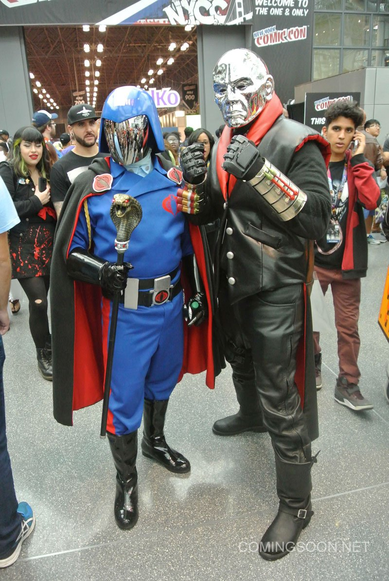 Cobra Commander Destro Cosplay  sc 1 st  Zany Geek & The Finestu201d Cosplay From The 2016 New York Comic Con u2013 Zany Geek
