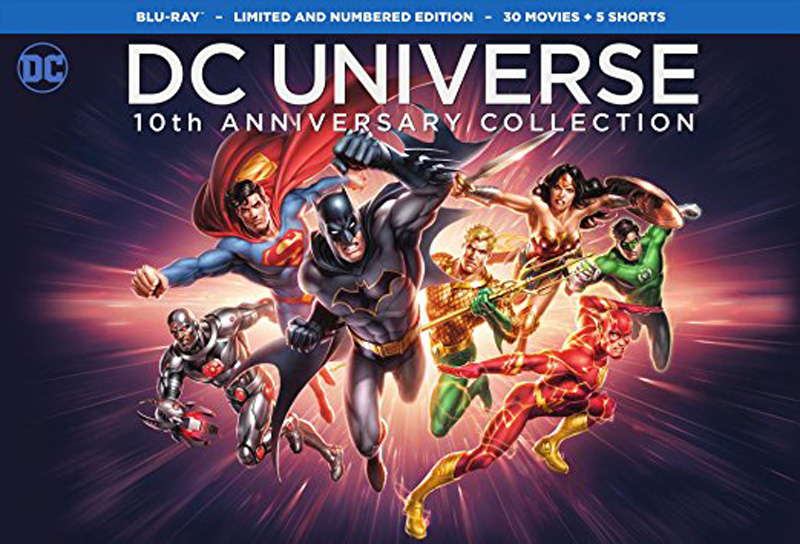 DC Universe 10th Anniversary Collection, 30 Movies