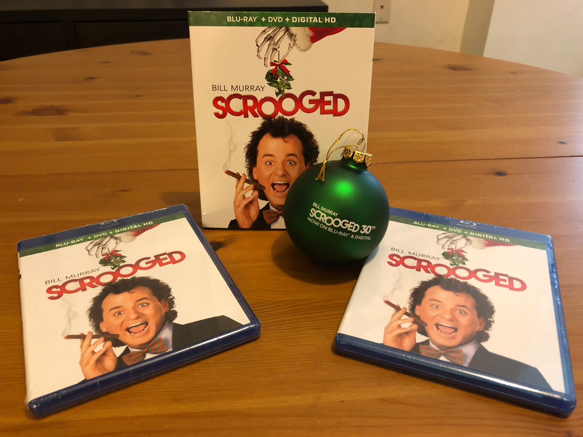 Scrooged 30th Anniversary Edition