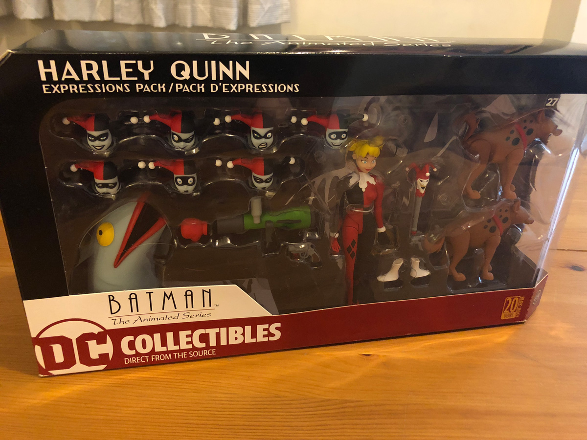 DC Collectibles Harley Quinn Expressions Pack