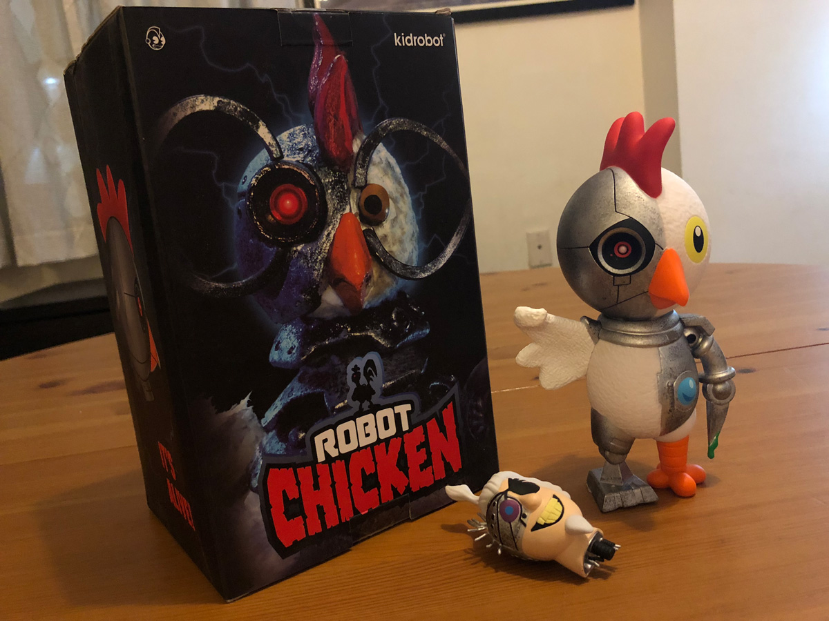 Robot Chicken Vinyl Figure