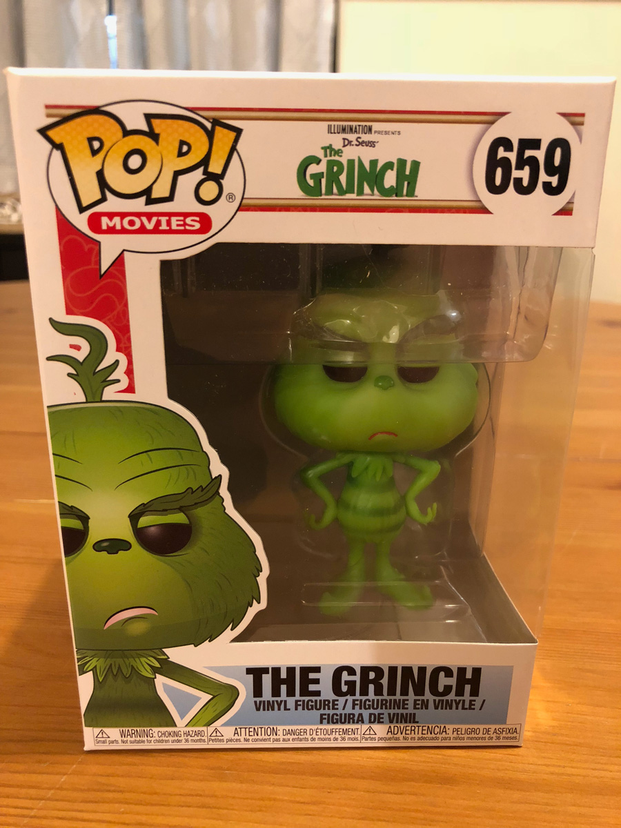 Grinch Funko Pop! Figure