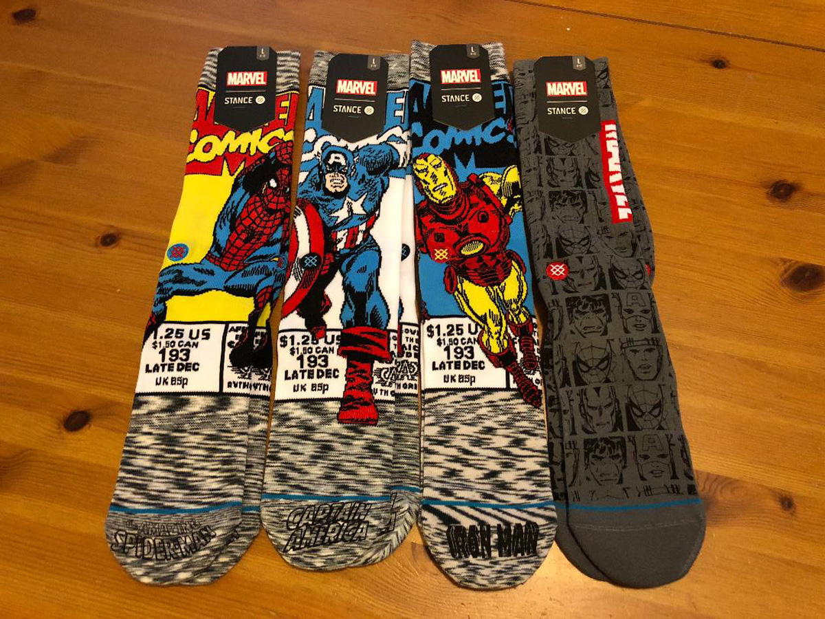 Marvel Avengers Sock Collection