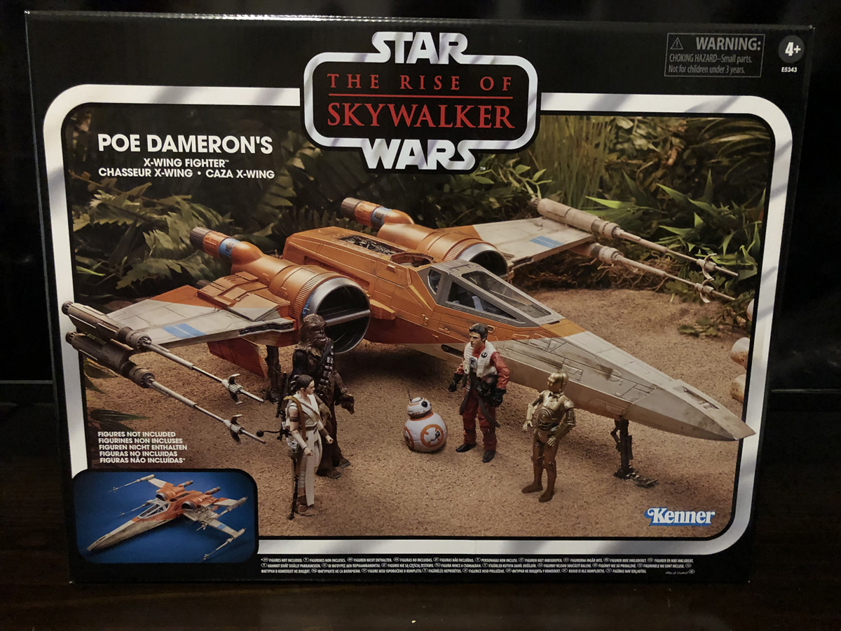 The Rise of Skywalker Poe Dameron's X-Wing Fighter