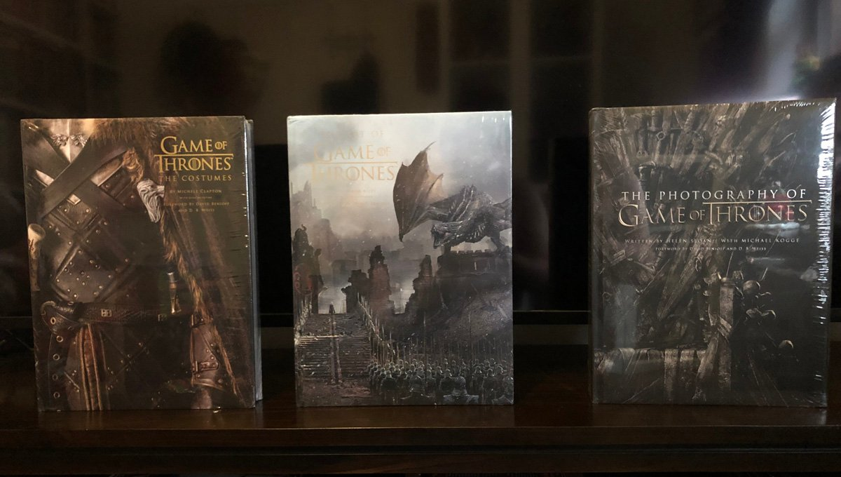 Game of Thrones Art, Costumes and Photography Books