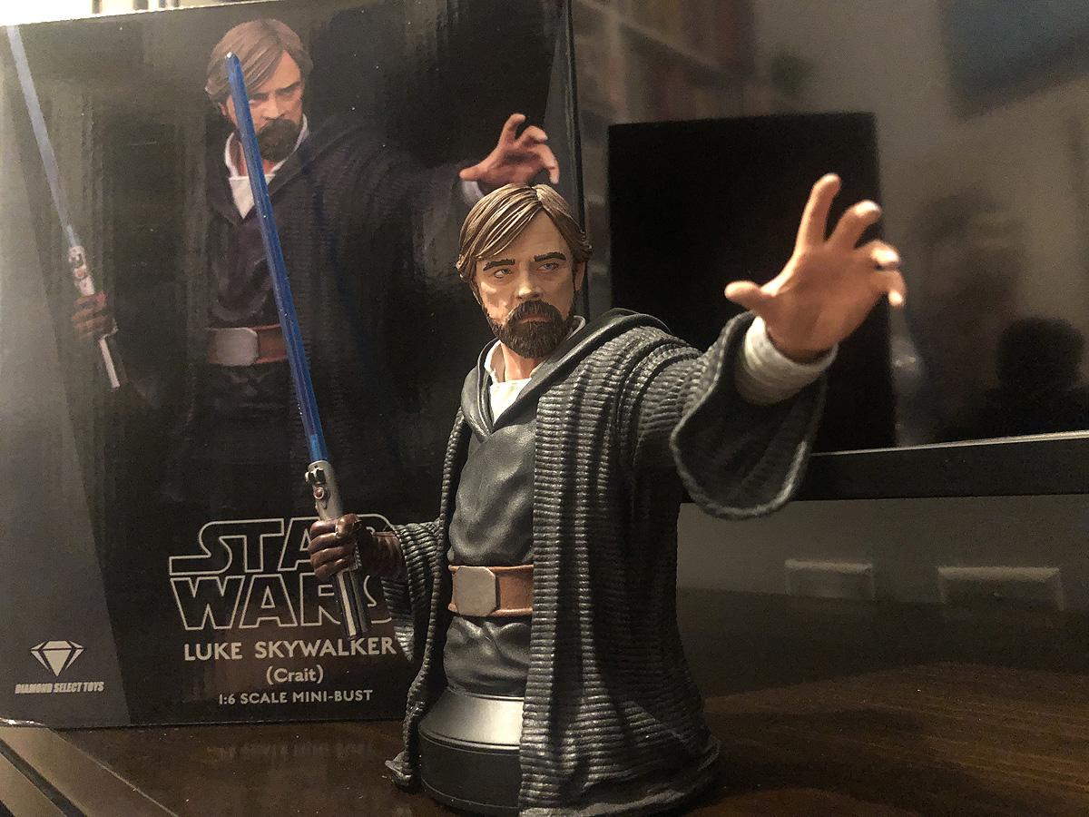 Luke Skywalker Resin Bust
