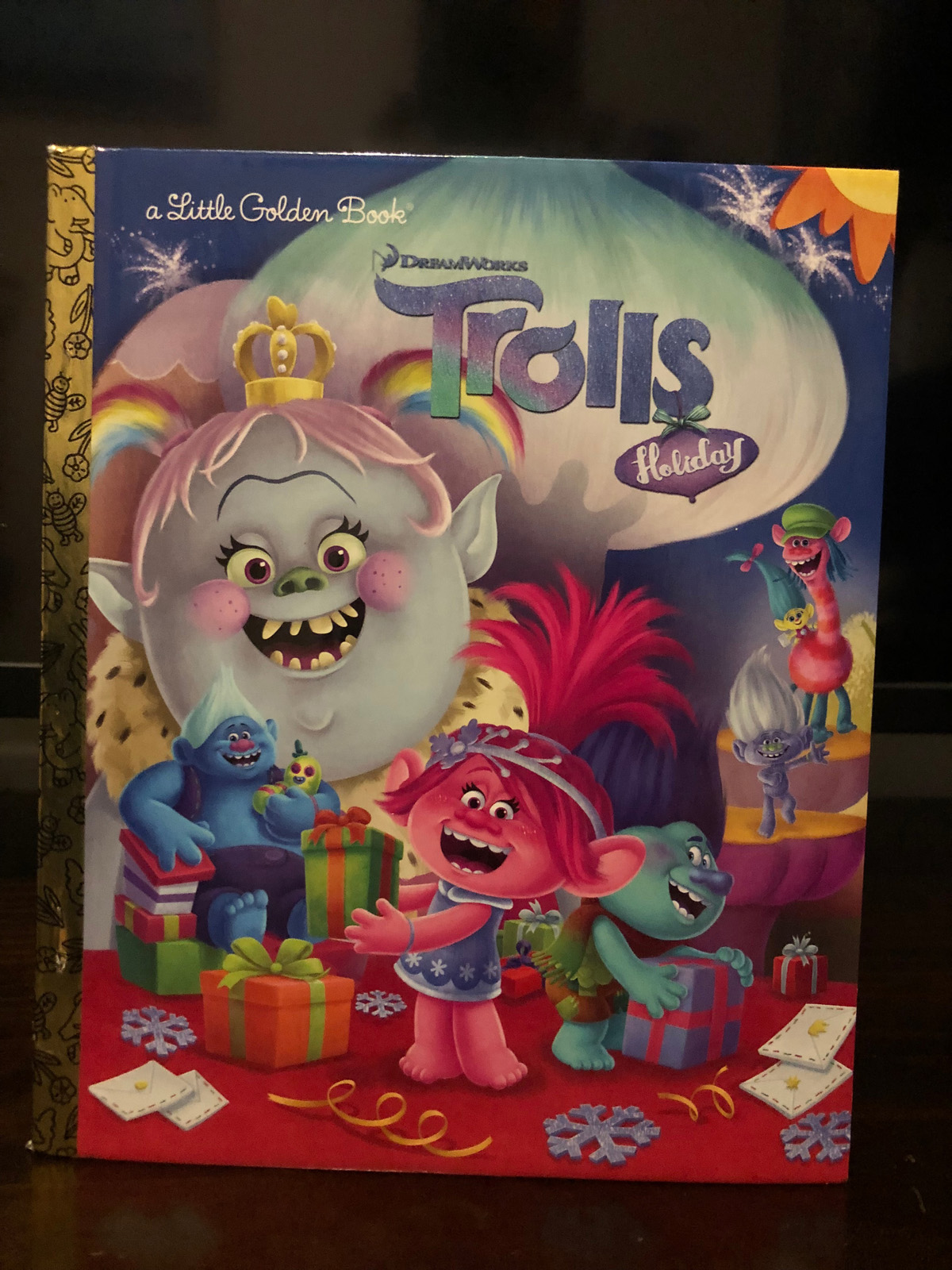 DreamWorks Trolls Holiday Little Golden Book