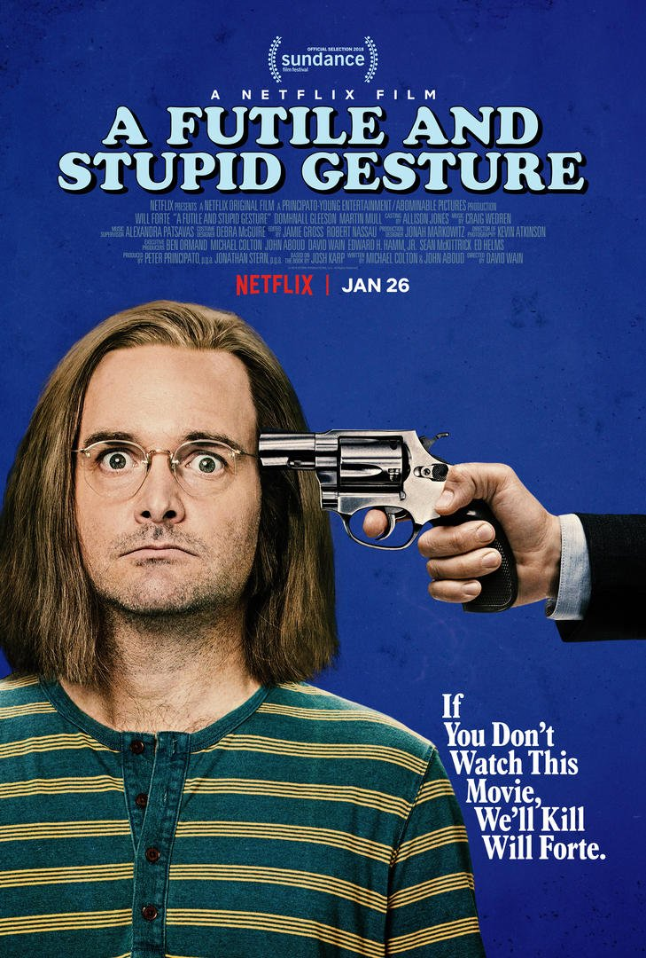 Image result for futile and stupid gesture  netflix