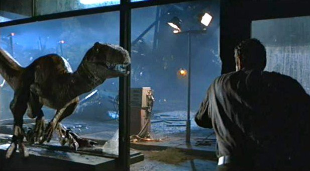 Velociraptors in The Lost World: Jurassic Park (1997)