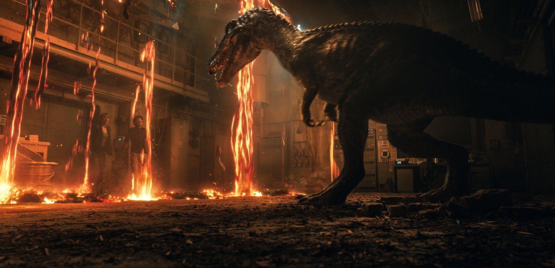 Baryonyx in JURASSIC WORLD: FALLEN KINGDOM (2018)