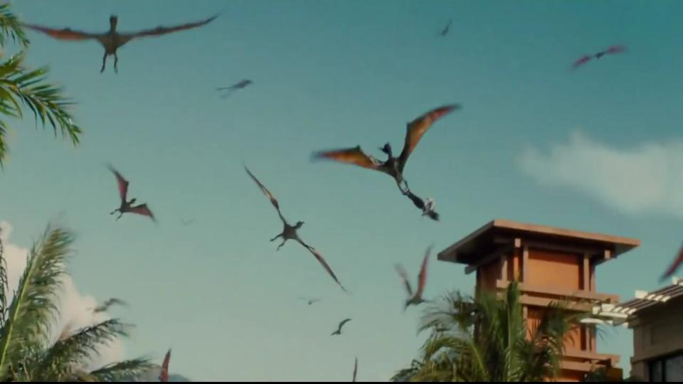 Pteranodon in JURASSIC WORLD (2015)