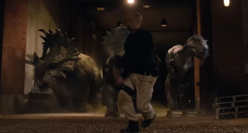 Sinoceratops in JURASSIC WORLD: FALLEN KINGDOM (2018)