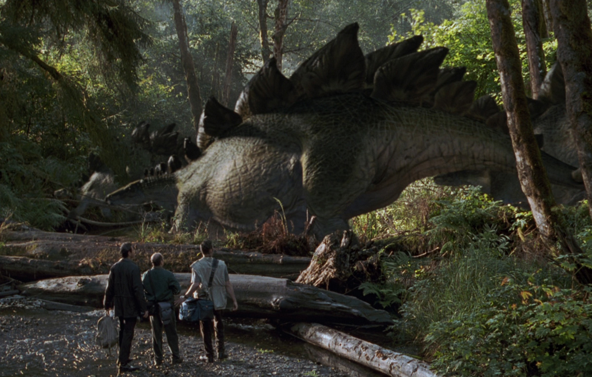 Stegosaurus in The Lost World: Jurassic Park (1997)