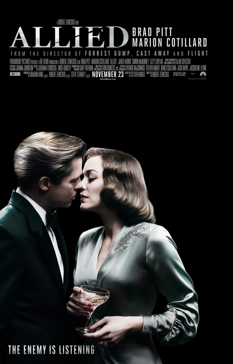 Allied (2016) - CAM
