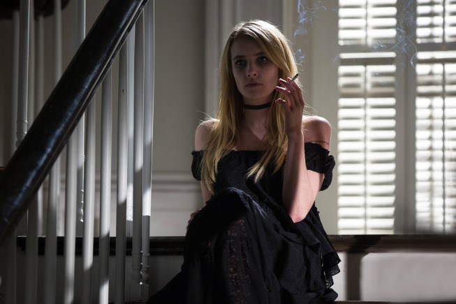 AMERICAN HORROR STORY: COVEN The Dead - Episode 307 (Airs Wednesday, November 20, 10:00 PM e/p) --Pictured: Emma Roberts as Madison -- CR. Michele K. Short/FX