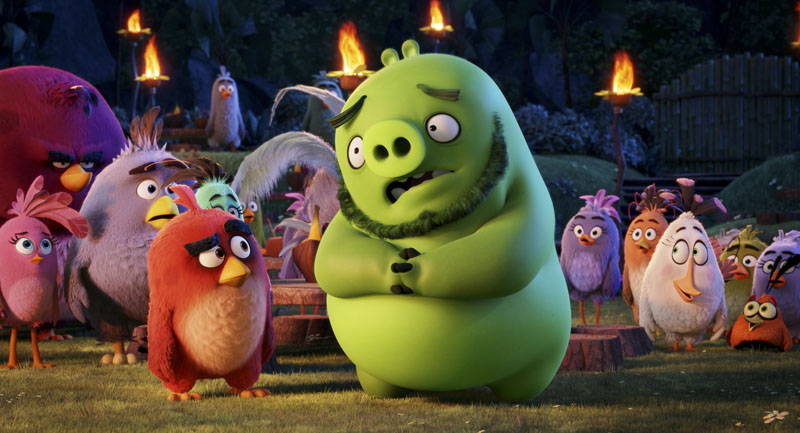 Image result for angry birds movie film stills