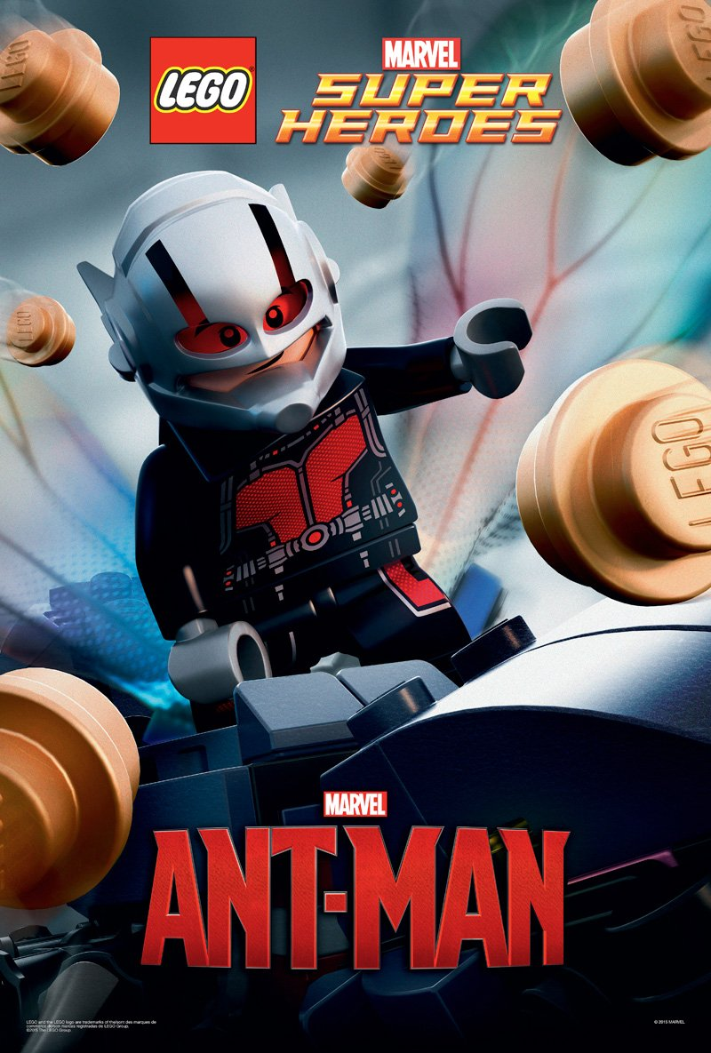 Ant-Man LEGO Poster