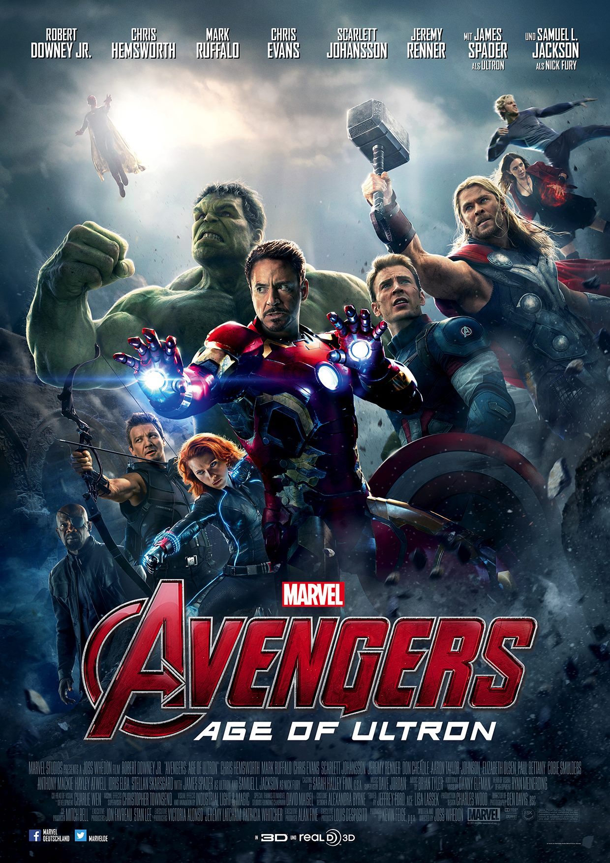 Avengers: Age of Ultron -2015 - ComingSoon.net