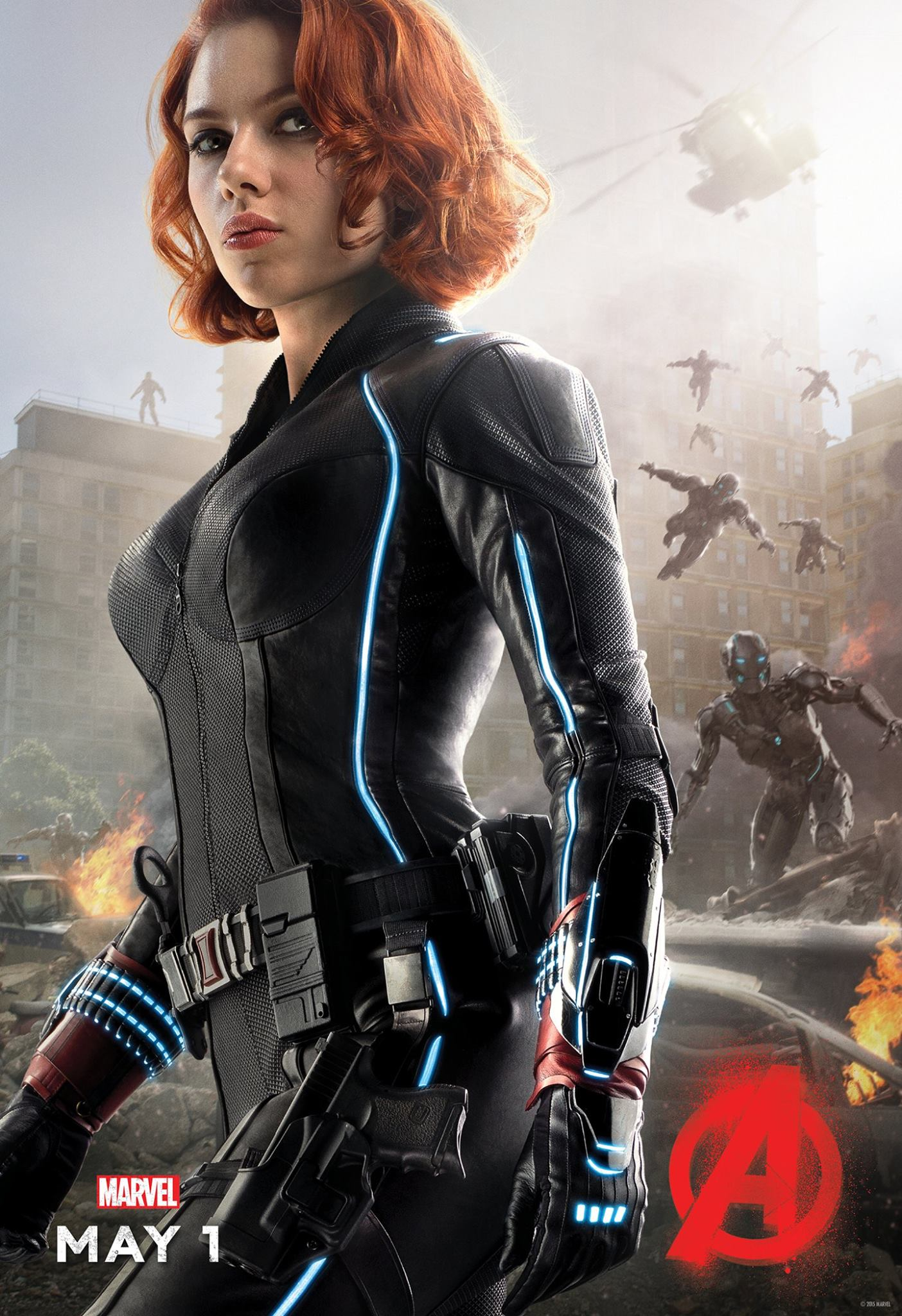Avengers: Age of Ultron Black Widow Poster