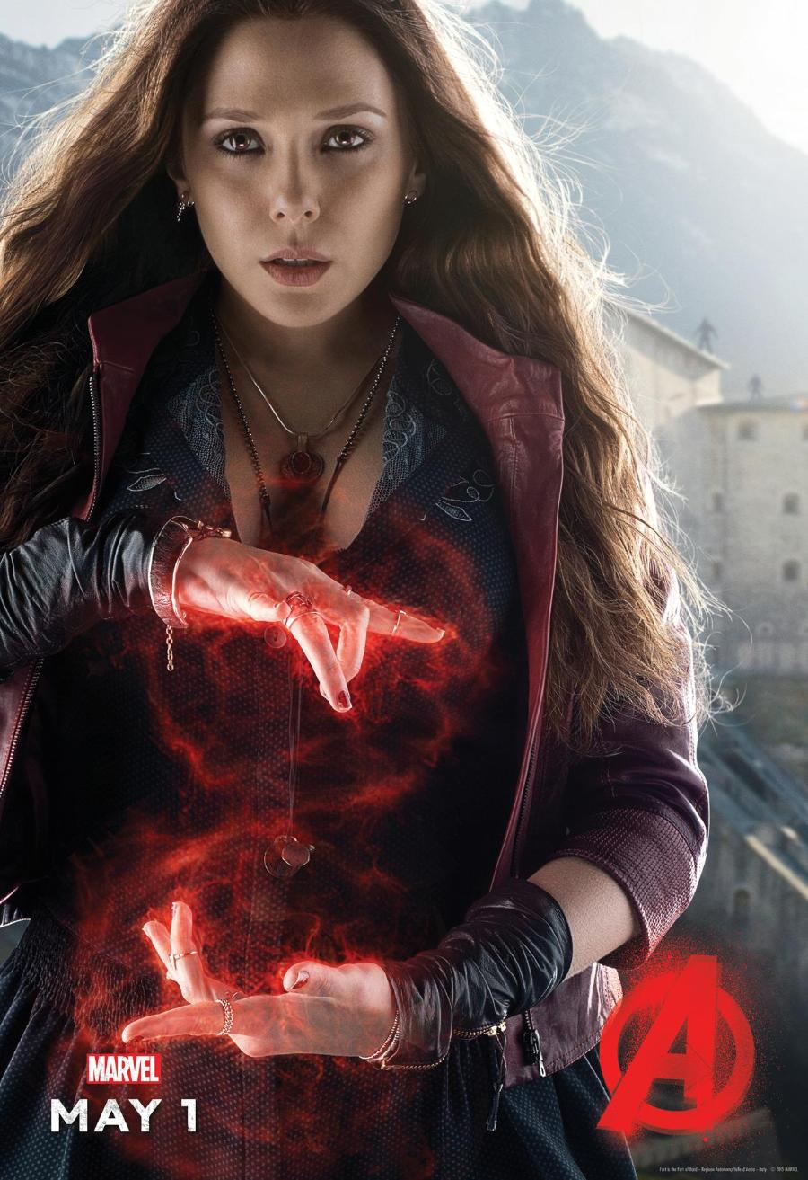 Avengers: Age of Ultron Scarlet Witch Poster