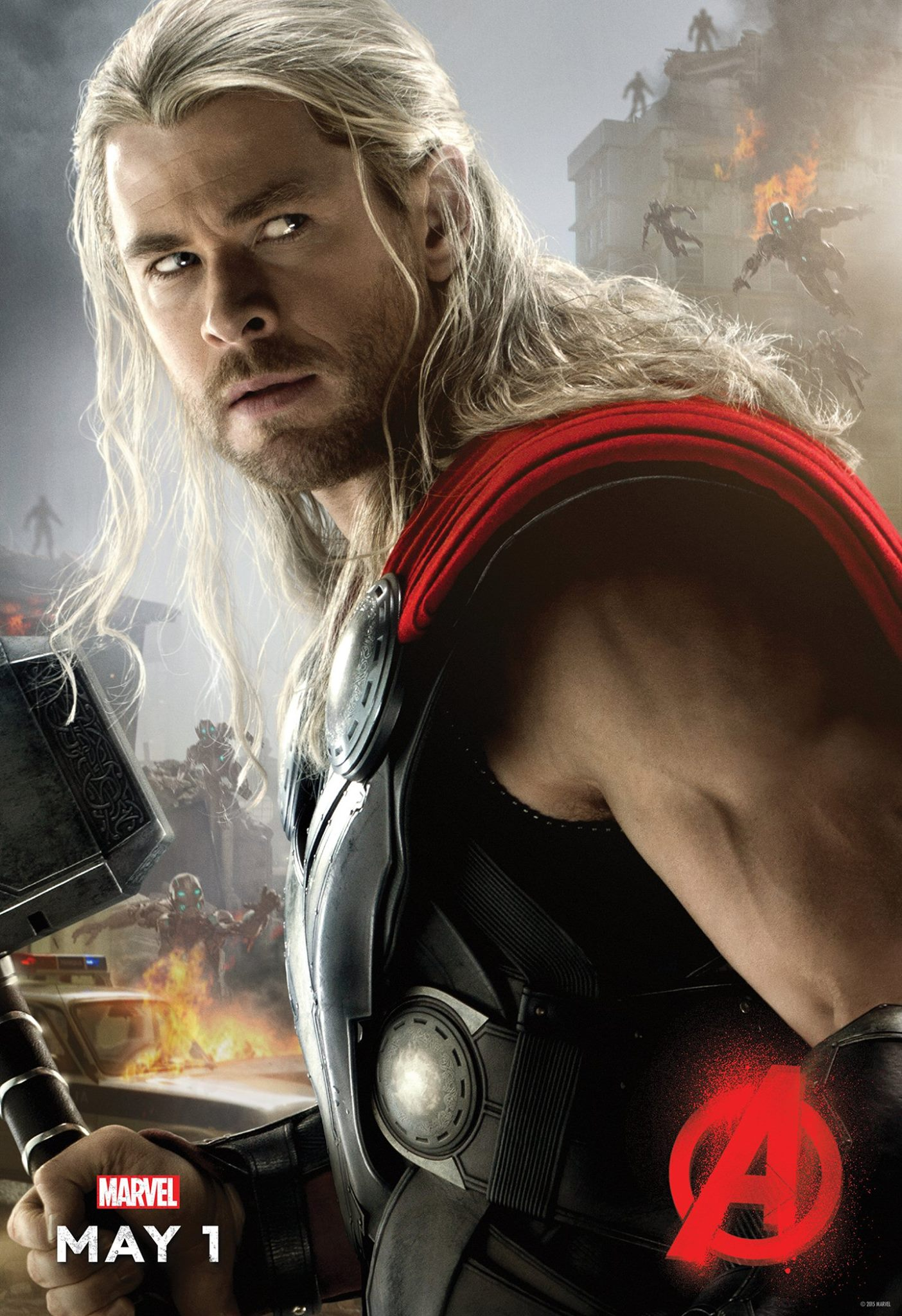 Avengers: Age of Ultron Thor Poster