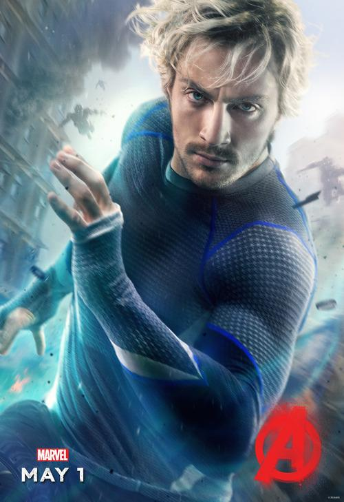 Avengers: Age of Ultron Quicksilver Poster