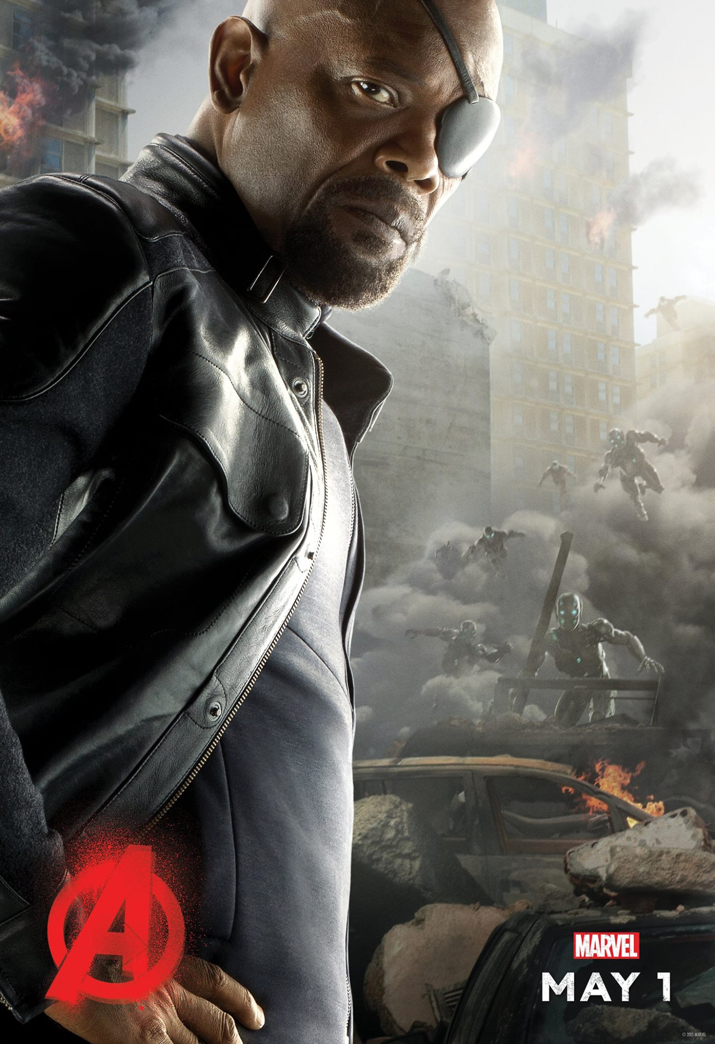 Avengers: Age of Ultron Nick Fury Poster