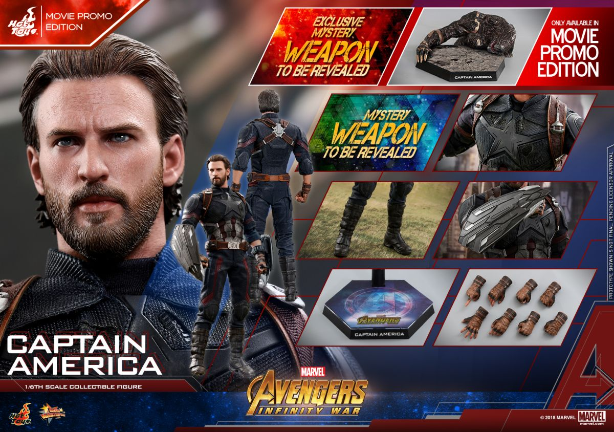 Captain America Hot Toy