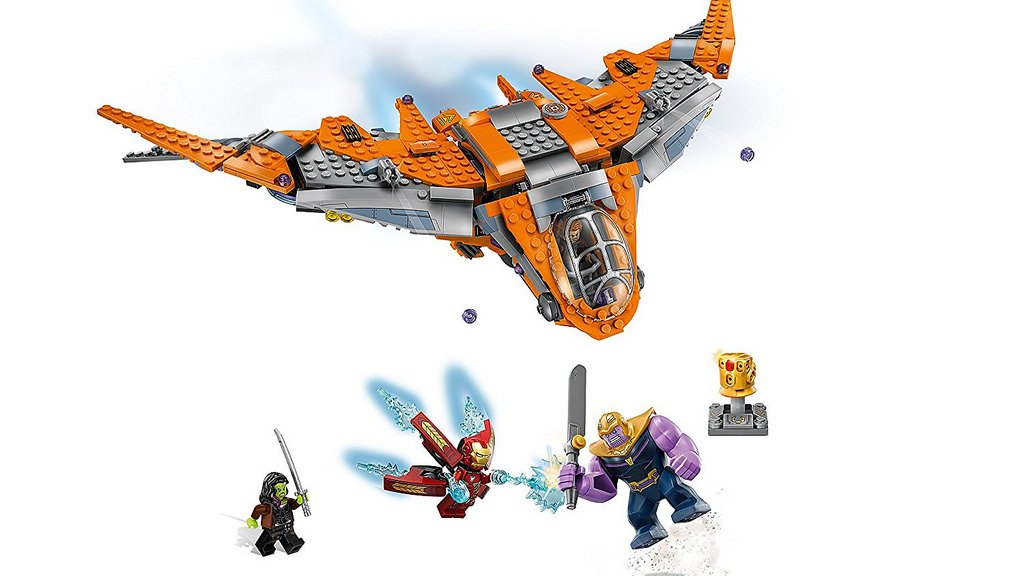 76107 Thanos Ultimate Battle