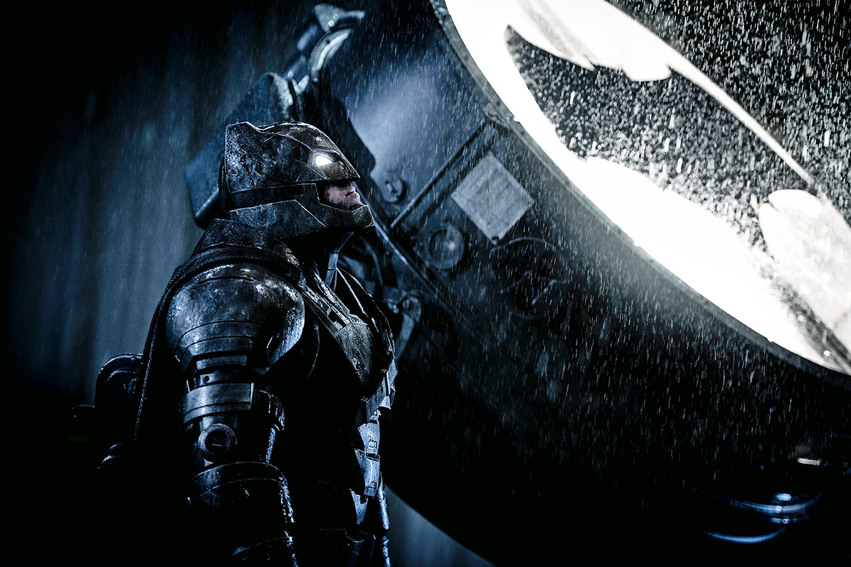 Batman v Superman Behind the Scenes Photos Debut