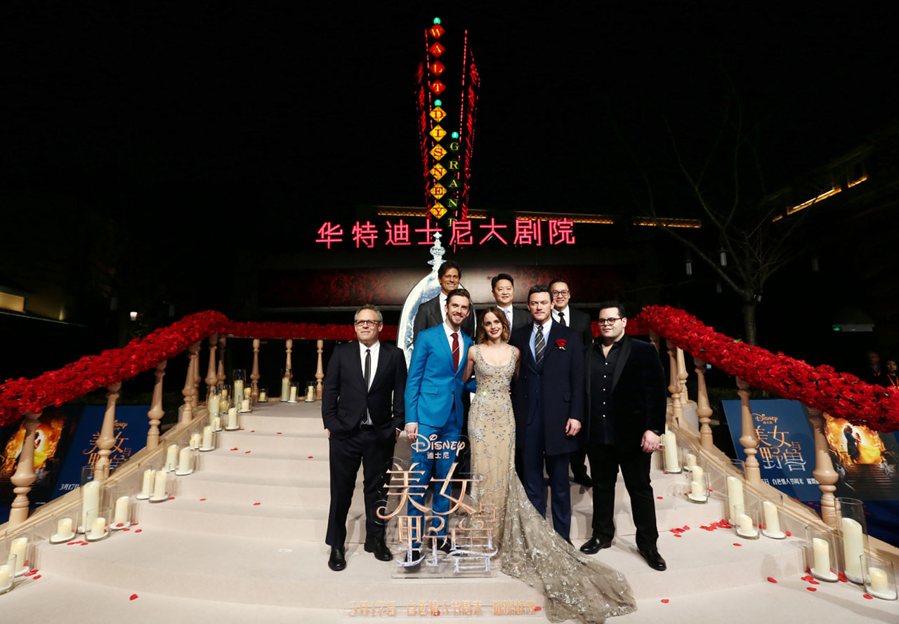 Beauty and the Beast China Premiere