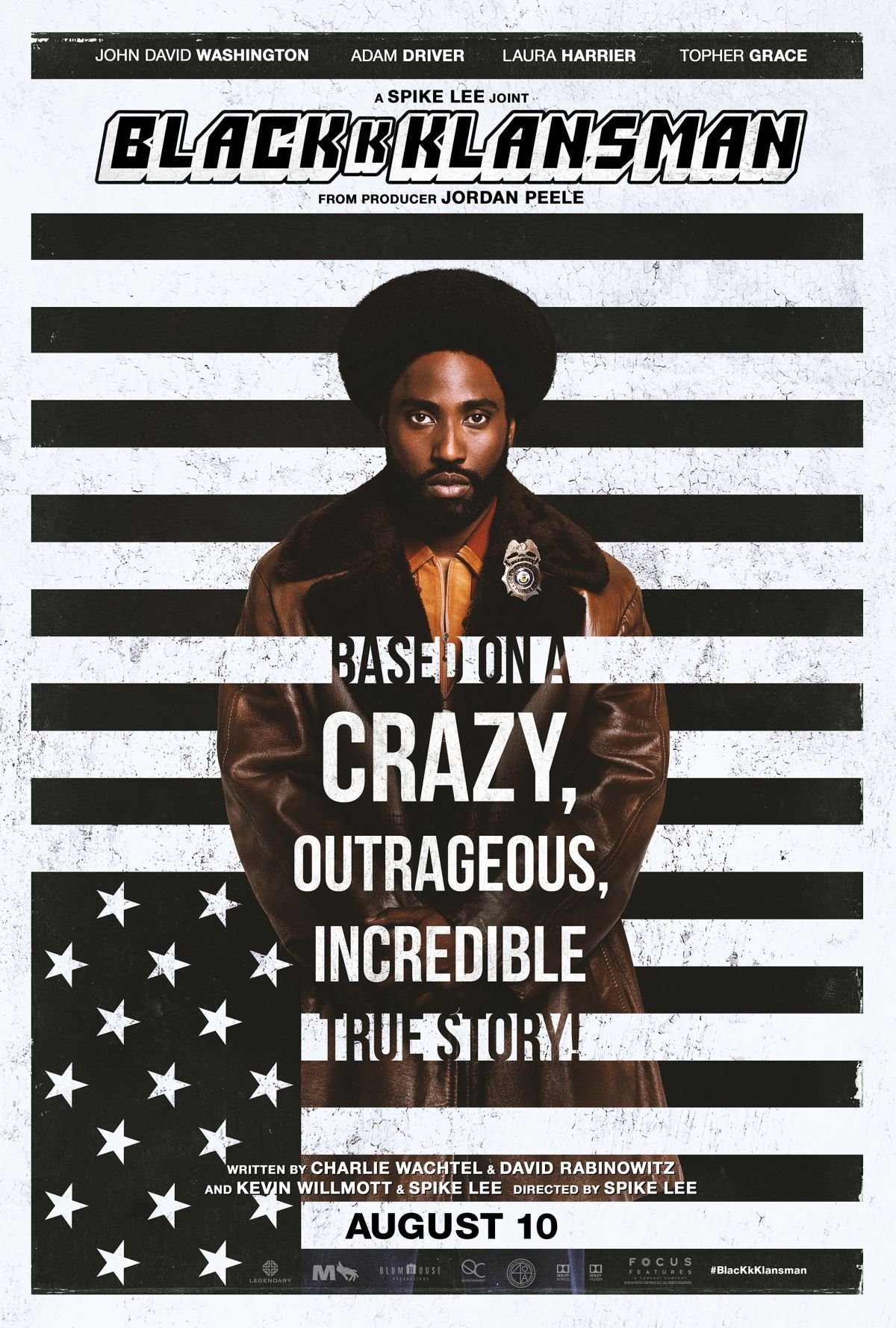 Three BlacKkKlansman Clips Reveal Undercover Truths ...