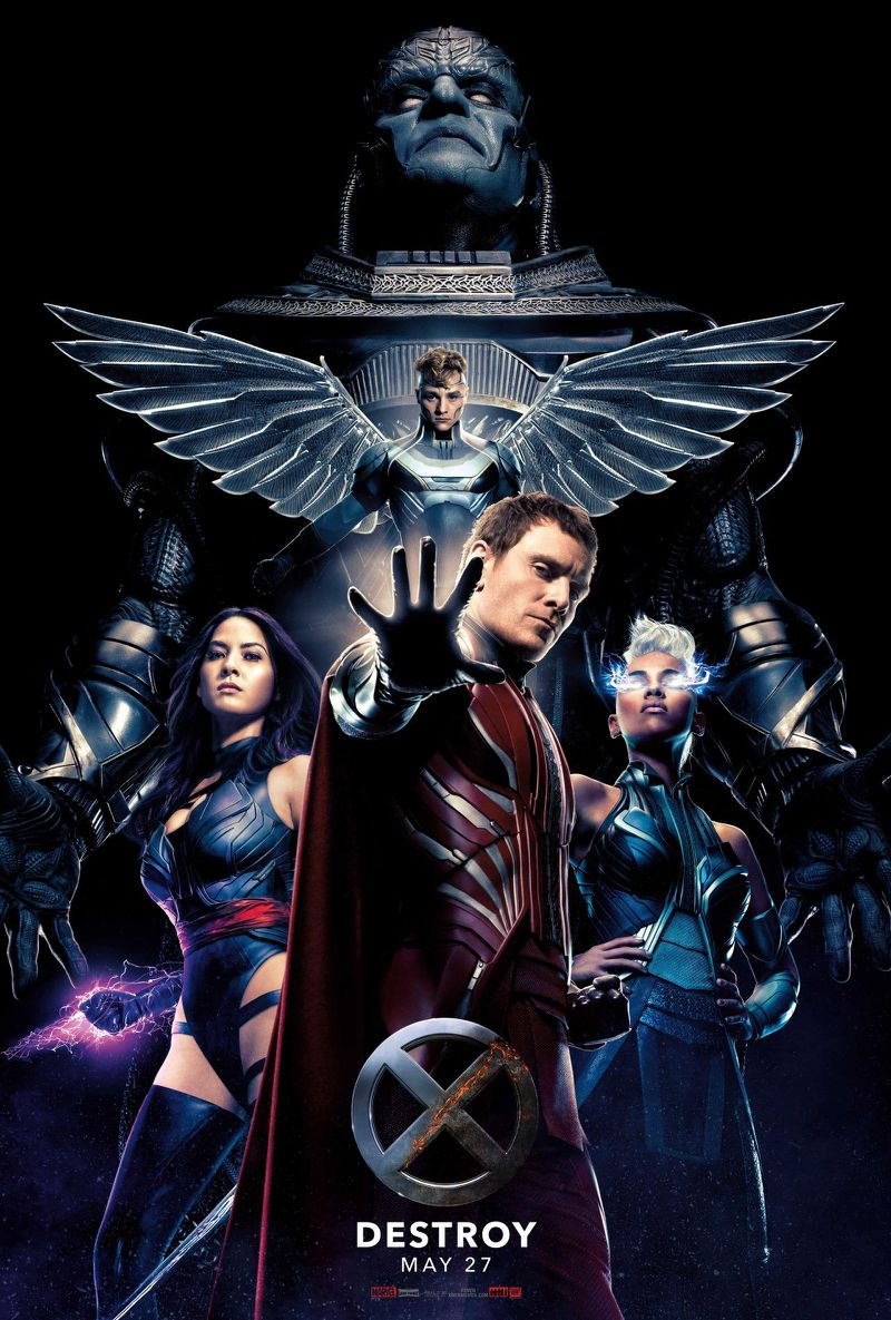 Watch X-Men Apocalypse (2016) Hindi Dubbed Movie Online